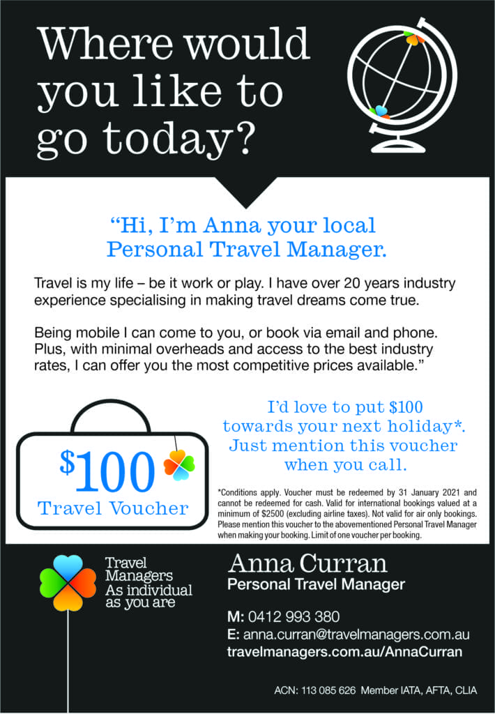 Anna Curran – Personal Travel Manager