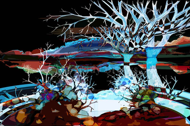 Mystical Landscape 2 by Trudy Brooks